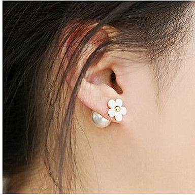 """""""New Arrival Hot Selling High Quality Flower Pearl Earrings"""""""