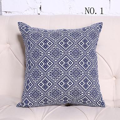 Porcelain Blue Decorative Pillows : 18