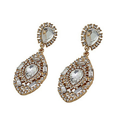 """New Arrival Hot Selling High Quality Rhinestone Crystal Water Drop Earr..."