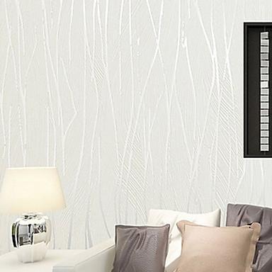 Nouvelle rainbow papier peint contemporain 3d art d co flocage papier peint - Revetement mural tissu sur mousse ...