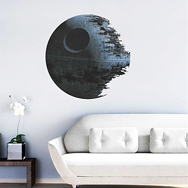 Wall stickers for Death star wall mural