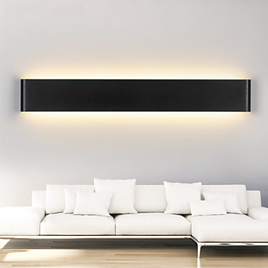 Black Indoor Wall Sconces : 24W Modern LED Wall Sconces Light Indoor Black / White 72cm 3977548 2016 ? $86.99