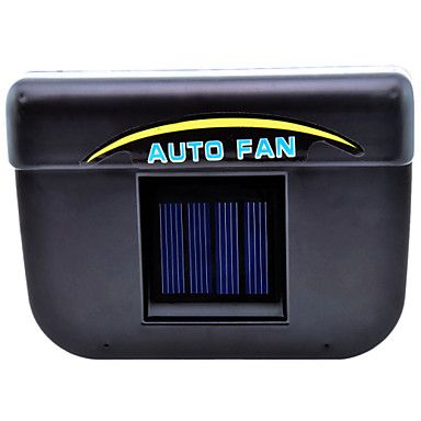 solar powered car air vent cooling fan 3903042 2016. Black Bedroom Furniture Sets. Home Design Ideas