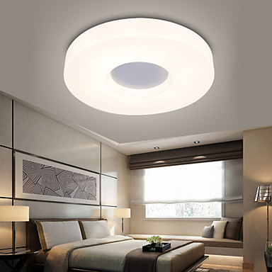 Round Ceiling Lights Flush Mount Led Modern Contemporary Living Room Study Room Office Entry