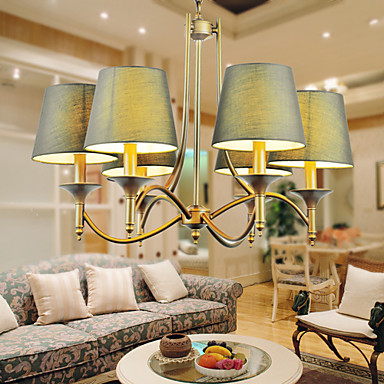 Chandeliers American Retro Country Retro Rural Idyll Dining Room Lamp Droplig