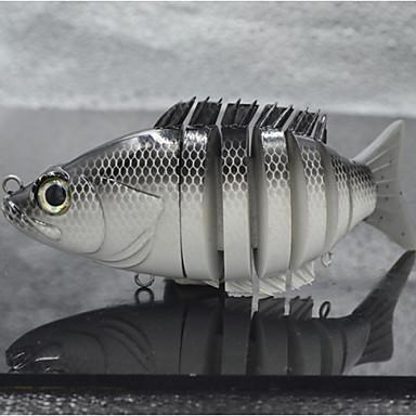 Hot selling hard plastic swimbait sunfish soft tail lure for Hard and soft fishing