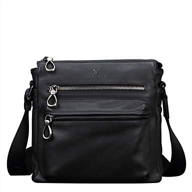 Buy X.BNJ 1261 Men Shouder Bags Top Grade Genuine Leather Business Bag Vintage First Layer Cowhide Messenger