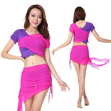 Buy 2015 New Hot Selling Belly Dance Performance Costumes Dancing Wears Suits WY9528 2Top+2Skirt/SET