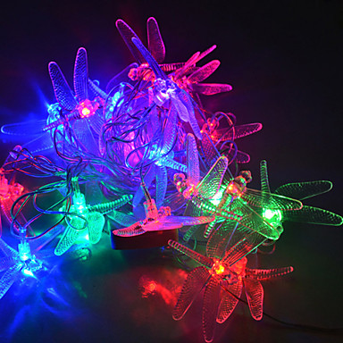 Philips Led String Lights Dragonfly : YouOkLight? 4M 20LEDs RGB LED Dragonfly String Lights Christmas String Light For Decoration (AC ...