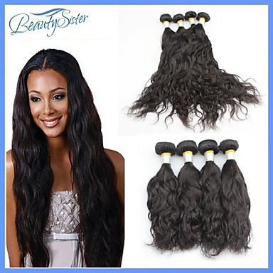 Buy Peruvian Hair Products Natural Wave 4Pieces Lot Virgin 7A Color Human Weft