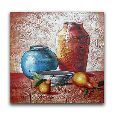 Buy IARTS®Two Jar Still Life Products Oil Painting Wall Art Decoration Framed