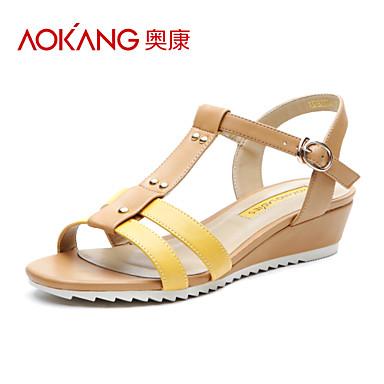 Aokang 174 women s leatherette sandals 132823344 2015 39 99