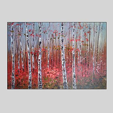 Handgeschilderde landschap abstracte landschappen fantasiestijl e n paneel canvas hang - Hang een doek ...