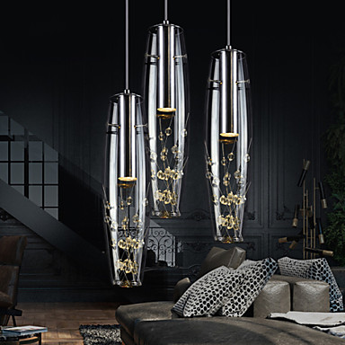 L mparas colgantes moderno contempor neo galvanizado for Lamparas estilo contemporaneo