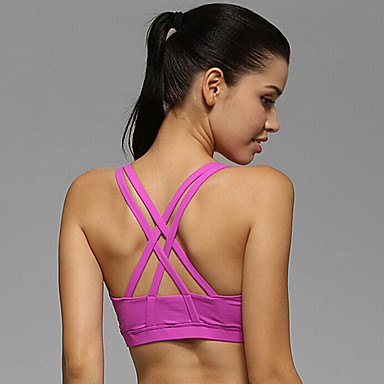 Running Bra / Tops Women's Sleeveless Breathable / Stretch ...