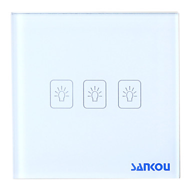 Buy A8-03 2Way Touch Switch Crystal glass panel
