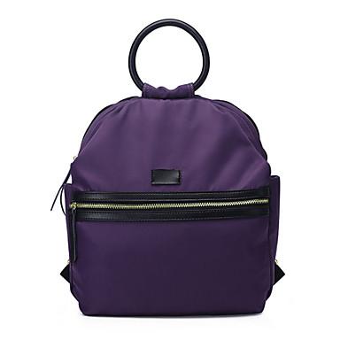 sac dos sac d 39 ecole sac de voyage violet noir seau polyur thane femme de 4527328. Black Bedroom Furniture Sets. Home Design Ideas
