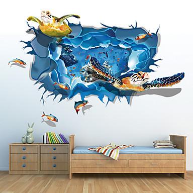 Cartoni animati 3d adesivi murali adesivi 3d da parete for Foto murali 3d