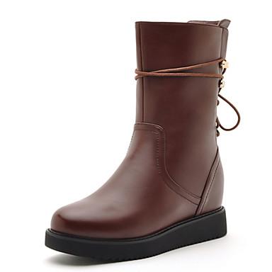 Zapatos de mujer tac n plano botas anfibias botas a - Zapatos de trabajo ...