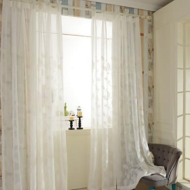 Deux panneaux le traitement de fen tre rustique chambre for Decoration fenetre interieur