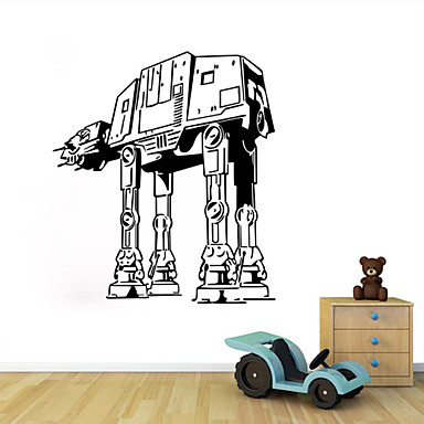 W 29 star wars wall art sticker wall decal diy home for Stickers para dormitorios