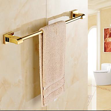 Gold Plated Brass Bathroom Towel Rack 4694143 2016