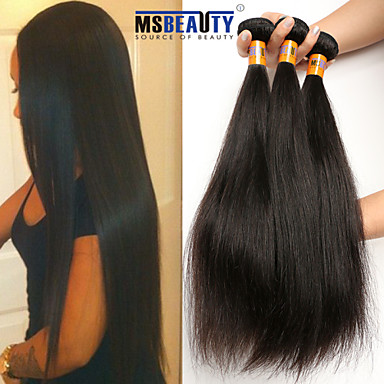 Buy /Lot 8 inch-22 inch 8A Indian Straight Hair extensions Unprocessed Virgin Human Weaves