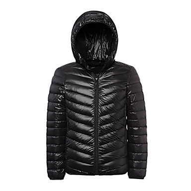Buy Men's Winter Jacket / Tops Snowsports Thermal Warm Lightweight Materials Spring Fall/Autumn WinterS M L XL XXL