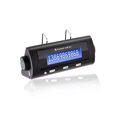 Buy BT8106 Bluetooth Handsfree Car Kit, Bluetooth2.0/Car Charger/With 600mAh Li-ion Battery