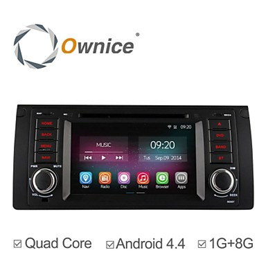 Buy 7 Inch 1 Din In-Dash Car DVD Player BMW E39 E59 5 Series Quad Core Pure Android 4.4.2 GPS Navigation Radio