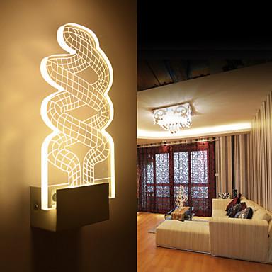 Creative 3d effect vivid design tangled rope image wall light 5w aisle light bedside light Rope lighting master bedroom