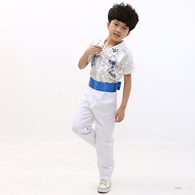 Buy Performance Outfits Children's Polyester Embroidery 2 Pieces White