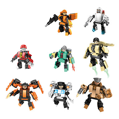 Buy 8piece/lot 1 Robot Blocks Model Building Ghost Action Biochemical Times Wars Minifigures Original
