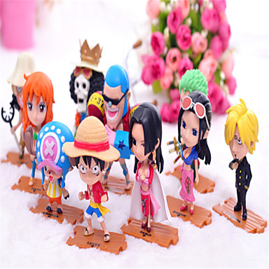 Buy One Piece GK Luffy Model Joe Doll Generation 8 Anime Action Figure Toy