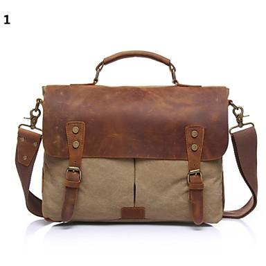Buy Men Cowhide Shopper Shoulder Bag / Wallet Card & ID Holder - 1# 2# 3# 4# 5# 6#