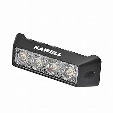 Buy KAWELL® 12W 5.5 inch 30 Degree LED ATV/Jeep/Boat/Suv/Truck/Car/Atvs Light Road Waterproof Black Led Work Spot