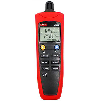 Buy UNI-T UT332 Red Thermometer