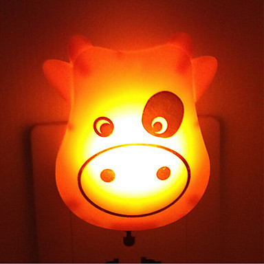 Creative Warm White Cow Light Sensor Relating To Baby