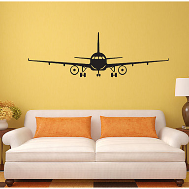 4028 3d airplane wall stickers muraux wall decor airplane wall art decal viny - Stickers muraux deco ...