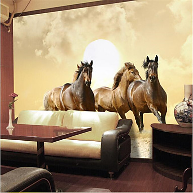 9 39 8 x 8 39 2 ft high quality photo wallpaper 3d horse hotel