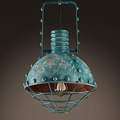 40w lampe suspendue rustique peintures fonctionnalit for Lampe suspendue chambre