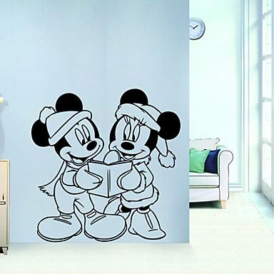 Animales caricatura romance 3d pegatinas de pared - Adhesivos pared 3d ...