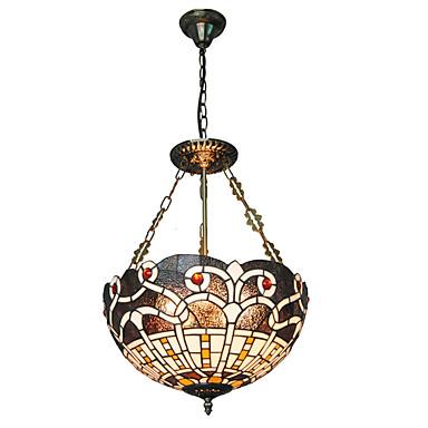 16inch retro tiffany pendant lights glass shade living room dining room light. Black Bedroom Furniture Sets. Home Design Ideas