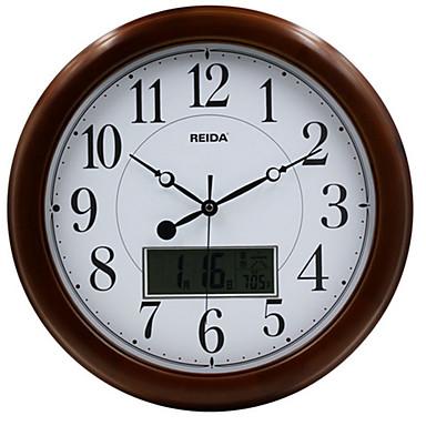 Redondo moderno contempor neo reloj de pared otros madera - Reloj de pared moderno ...
