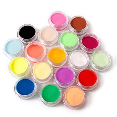 18 Color Nail Art Sculpture Carving Acrylic Powder 110g