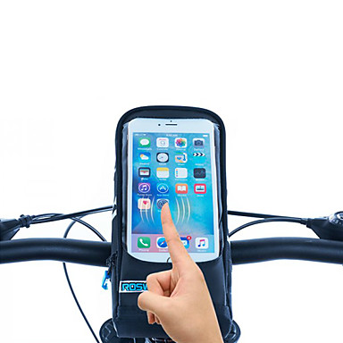 Buy Roswheel® Touchscreen Cycling Front Frame Bag 5.7 Inch Bike Bicycle Pouch Handlebar
