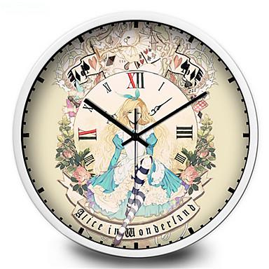 Redondo moderno contempor neo reloj de pared otros metal - Reloj de pared modernos ...