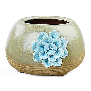 Creativa jard n artesan as de cemento a casa decoraci n - Plantas artificiales para decoracion ...
