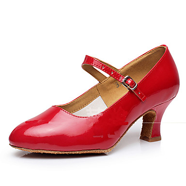 Women S Dance Shoes Latin Patent Leather