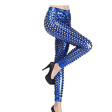 Buy Punk Lolita Pants N/A Golden / Silver Black Blue Dress Terylene(Free Size)